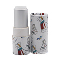 Wholesale empty private lipstick tube blam packaging