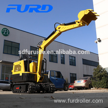 Top Quality Diesel Engine Cheap Mini Excavator For Small Works (FWJ-900-10)