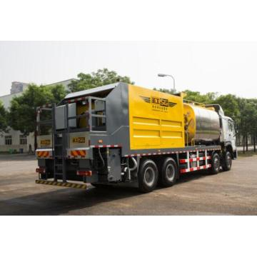 Professional stone synchronous chip seal spreader truck