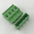7.62mm pitch terminal block Vertical PCB pluggable