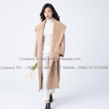 Lady Cashmere Coat With Mohair