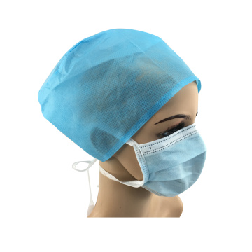 new disposable sterile nurse surgeon hat