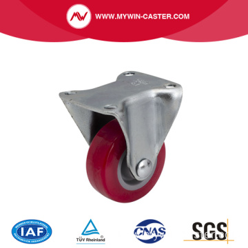 Mini 1.5 Inch 30kg Rigid TPU Caster