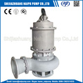 River sand pile project submersible slurry pumps
