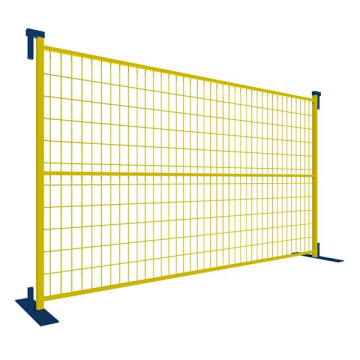 electric strong and robust CA temporary fence