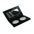 Duo holes face powder packaging customized