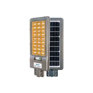 Portable solar street light with remote control