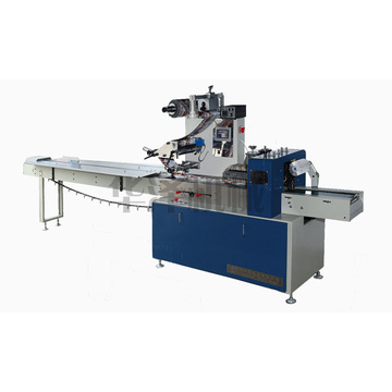 High speed pillow packing machine