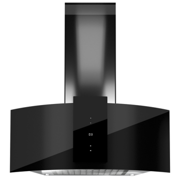 Black Decorative Wall Hoods 90 CM