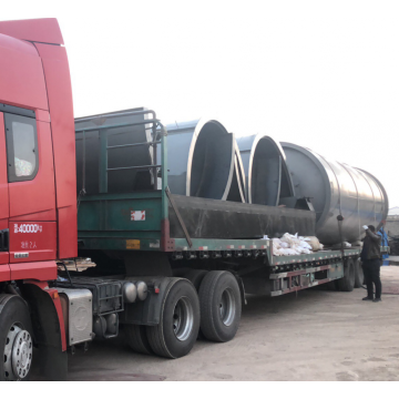 car tire pyrolysis to fuel machinery