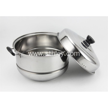 4 Layer Stainless Steel Steamer Cooking Pot