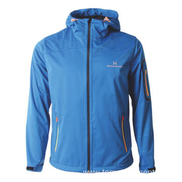 Simple highly breathable hiking softshell Jacket