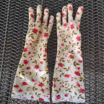 PVC Soft Household  Gloves