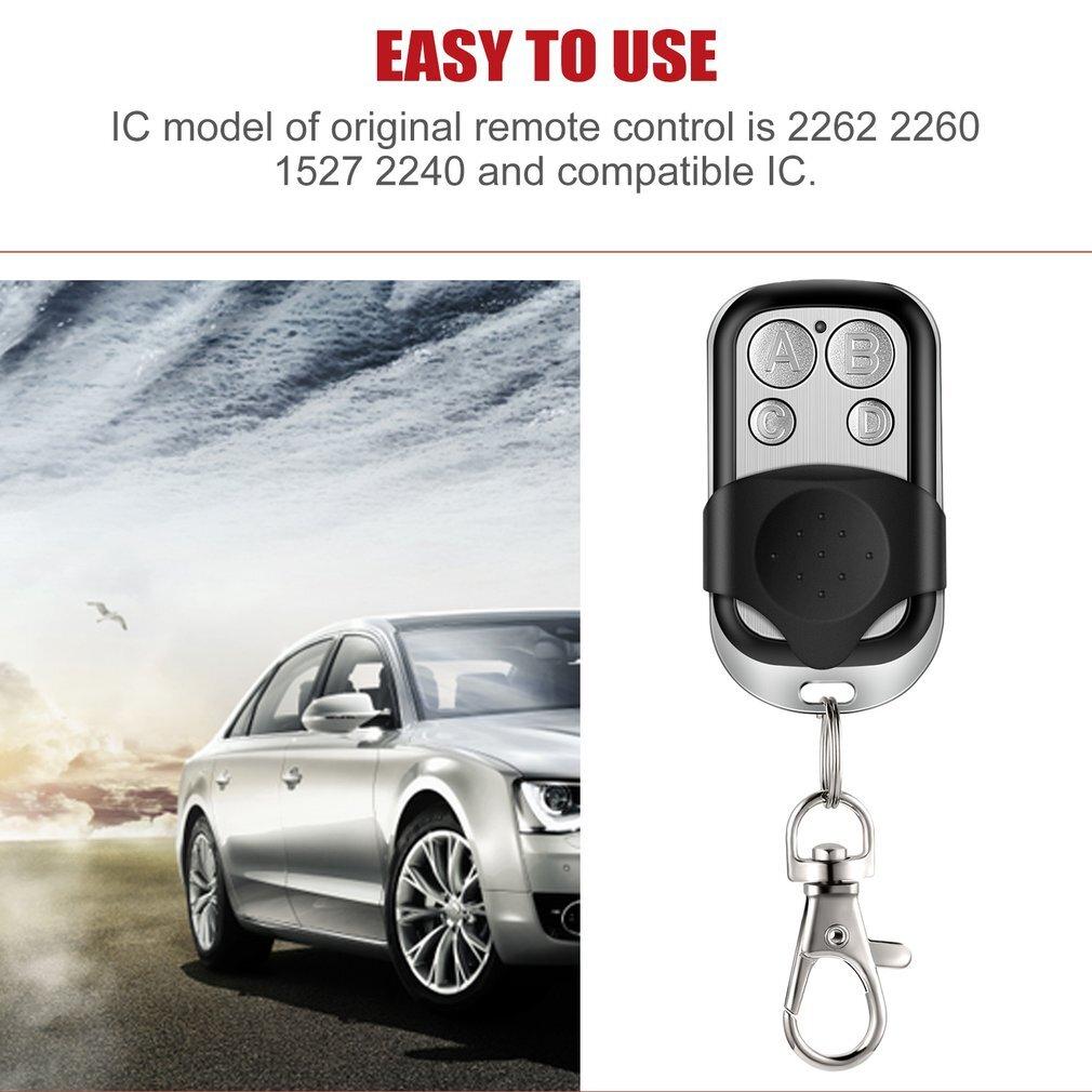 Blue Light 433.92MHZ Copy Remote Controller Metal Clone Remotes Auto Copy Duplicator For Gadgets Car Home Garage door