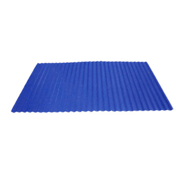0.6mm thick prepainted corrugated steel sheet for roof