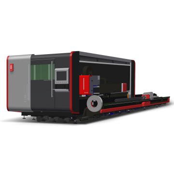 Tube & Plate Full Cover Fiber Laser Cutter