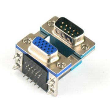 D-SUB PCB Dual Port Right Angle 8.89mm9PTO15P