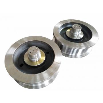 single and double flange forged crane wheel