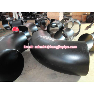 45deg 90deg SCHSTD welded black elbow