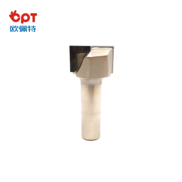 Diamond PCD straight bit woodworking tools clear bottom