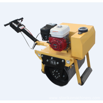 Easy to operate portable hand push road roller