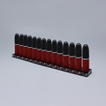 Clear Acrylic Lipstick Display Tower Brush Holder