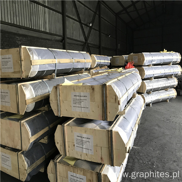 UHP 550 600 650 Length2400mm Carbon Graphite Electrodes