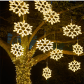 Outdoor Snowflake Landscape Lights