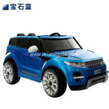 Blue Color Kid Toy Ride on Car