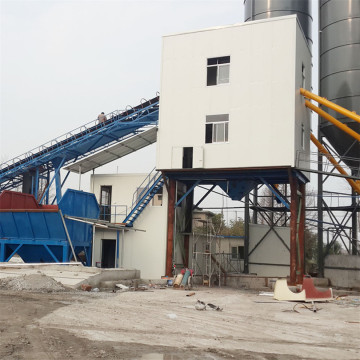 Large capacity HZS90 concrete batching plant price
