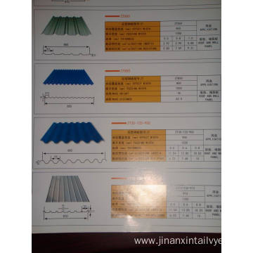 Corrugated Aluminum Board Spot 750 Corrugated Board