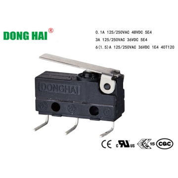 Dustproof Micro Switch For Door Locking Type