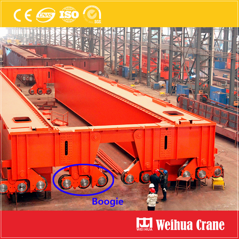 Large Tonnage Overhead Crane Boogie