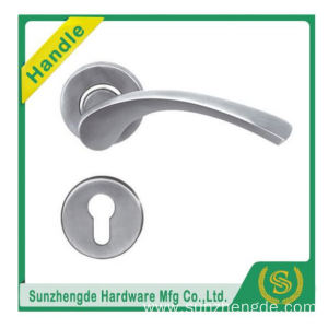 SZD SLH-020SS China Factory Price Luxury Chrome Square Glass Door Handles
