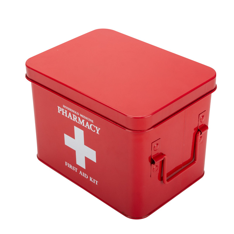 First Aid Box Red