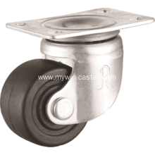 2.5 inch plate swivel PP material low gravity caster wheel