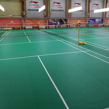 PVC badminton court floor mat