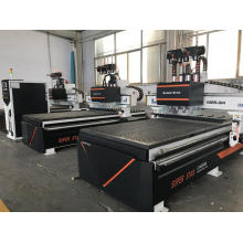 Multi-head 1325 cnc woodworking machine cnc router machine