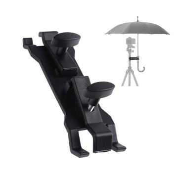 Camera Umbrella Clamp Sun-Shading Clip Holder Tripod Light Stand Flash Bracket for DSLR Camera Photo Studio Accessories