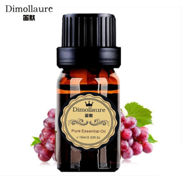 Dimollaure drop shipping organic Grape Seed essential oil Base oil body massage oil Skin care Hair care plant oil