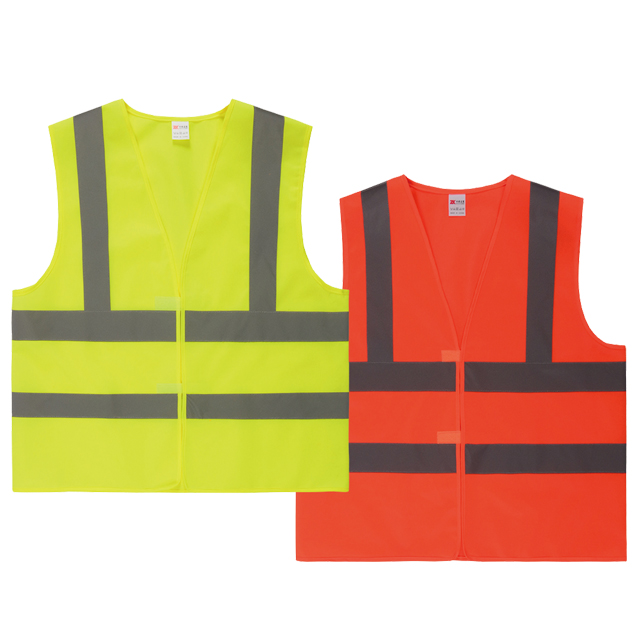 Safety vest with velcro