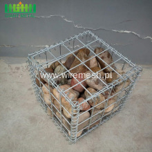 Hot Dipped Galvanized Welded Gabion Retaining Wall