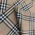 T/R/N/SP solid check fabric