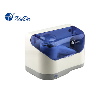 Hair dryer with dustproof lid box