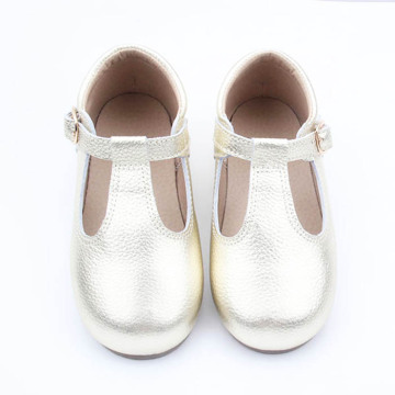 Baby Dress T-bar Kids Children Leather Shoes Girl