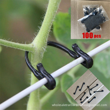 Vines Fastener Tied Buckle Hook Plant Vegetable Grafting Clips Agricultural Greenhouse Supplies