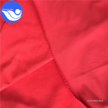 High F velvet tricot brushed fabric
