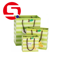 Xmas paper bags idea for food packaging wholesale