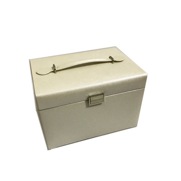 Classic Decorative big white jewelry storage box