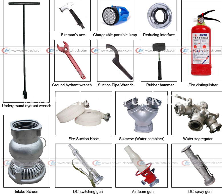 Fire Fighting Truck Accessories
